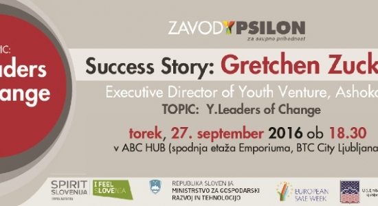 Y.business Success Story: Gretchen Zucker, Executive Director of Ashoka's Youth Venture®