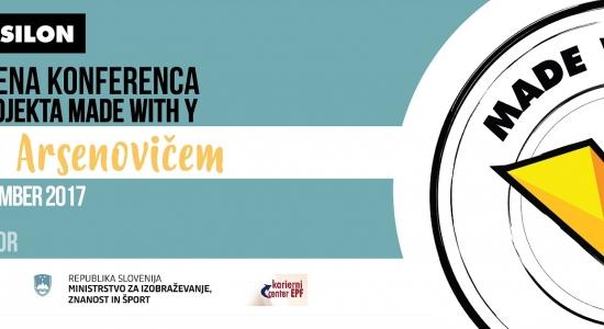 Otvoritvena konferenca 2. cikla projekta Made with Y