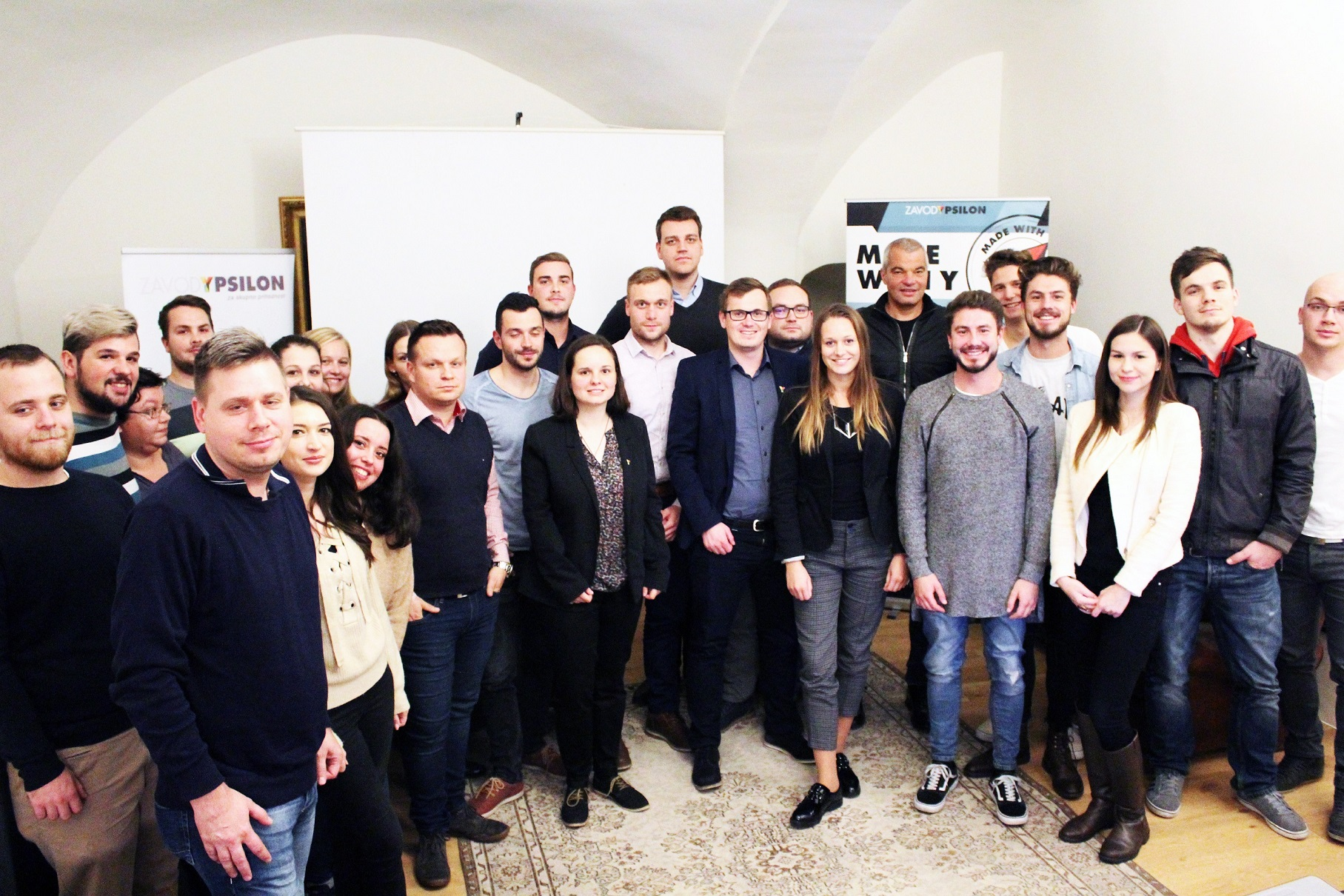 Otvoritvena konferenca 2 cikla projketa Made with Y Maribor 3